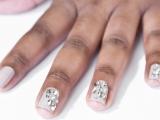 Rhinestone Manicure
