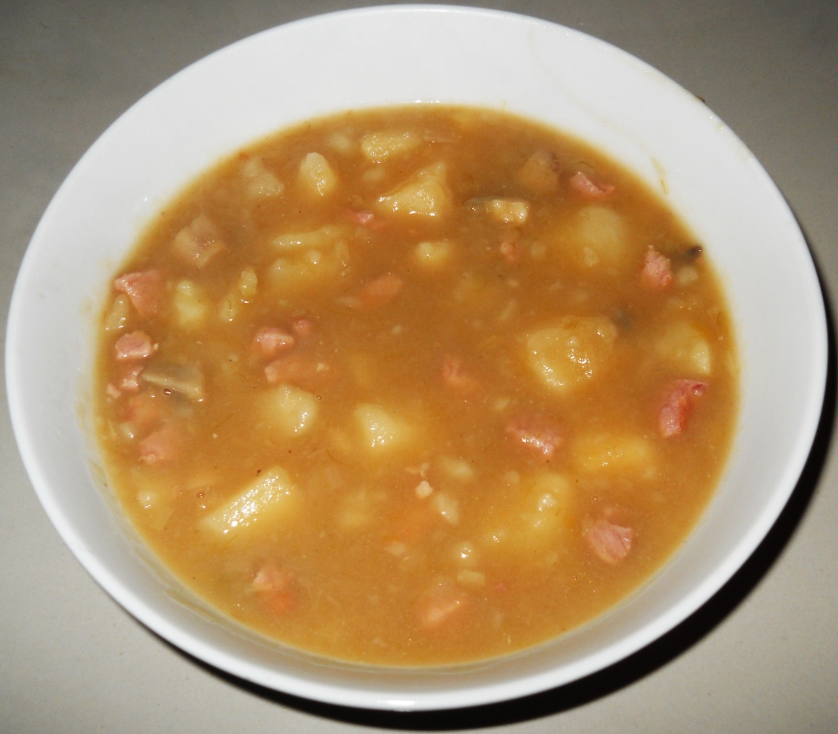 Potato & Bacon Soup