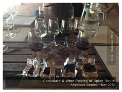 Wine & Chocolate at Spice route / DV Artisan.... The Best Chocolate ever!!!!