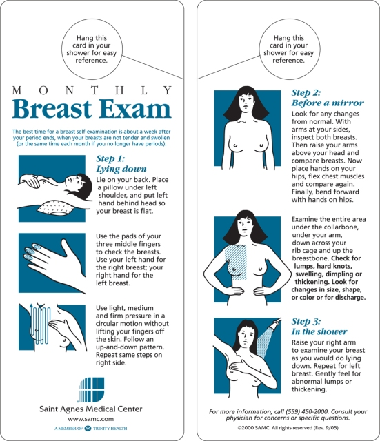 BreastSelfExamCard