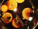 """Hot Mulled Wine (Glühwein, """"glowwine"""")"""
